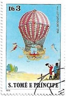 Selo Balão de gás, 1786