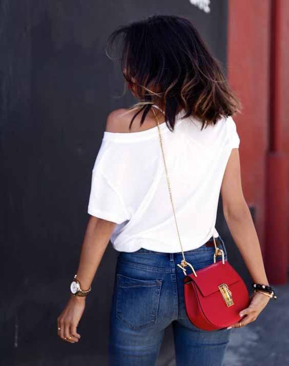 bolsa vermelha pequena tiracolo
