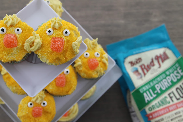 Spring Chick Cupcakes || The Chirping Moms
