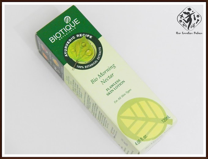 BIOTIQUE BOTANICALS Bio Morning Nectar Flawless Skin Lotion: Review, Swatch