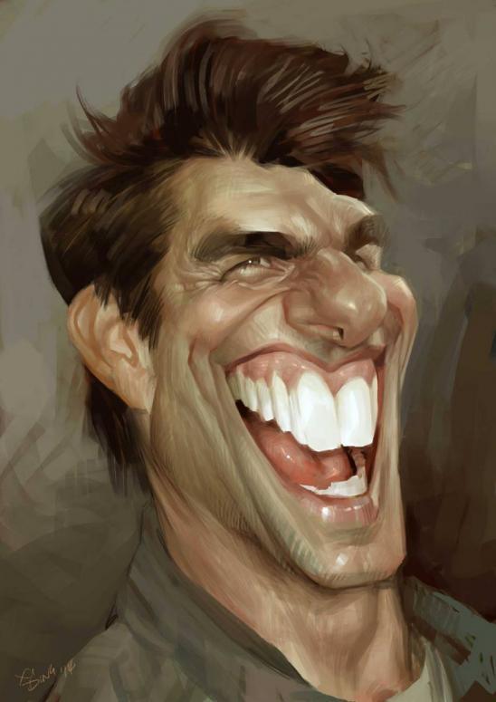 Tom Cruise por Xi Ding