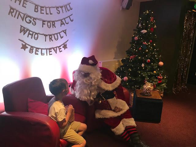 Tyneside cinema meeting santa