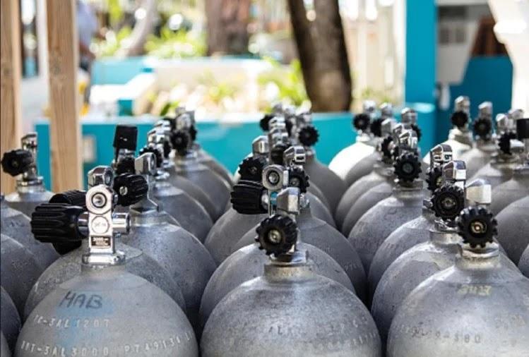 ऑक्सीजन सिलिंडर (प्रतीकात्मक तस्वीर) - फोटो : iStock