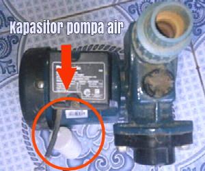 Cara Pasang Kapasitor Pompa Air Tehnik Mesin