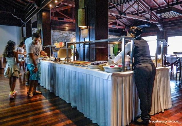 Café da manhã do Hotel San Martin Resort & Spa, em Foz do Iguaçu