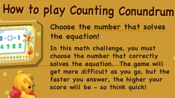 Counting Conundrum game