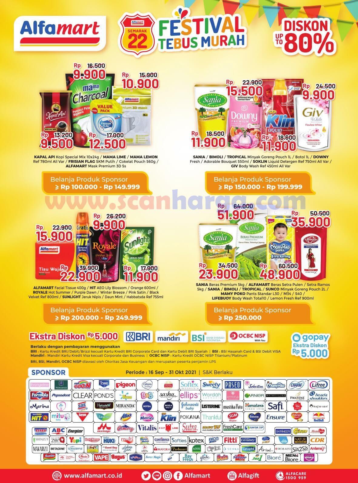 Katalog Promo Alfamart 16 - 30 September 2021 2