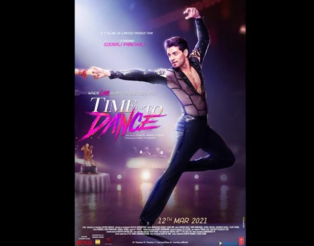 Sooraj Pancholi upcoming movie Time to Dance (2021)
