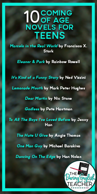 10 Coming of Age Novels for Teens