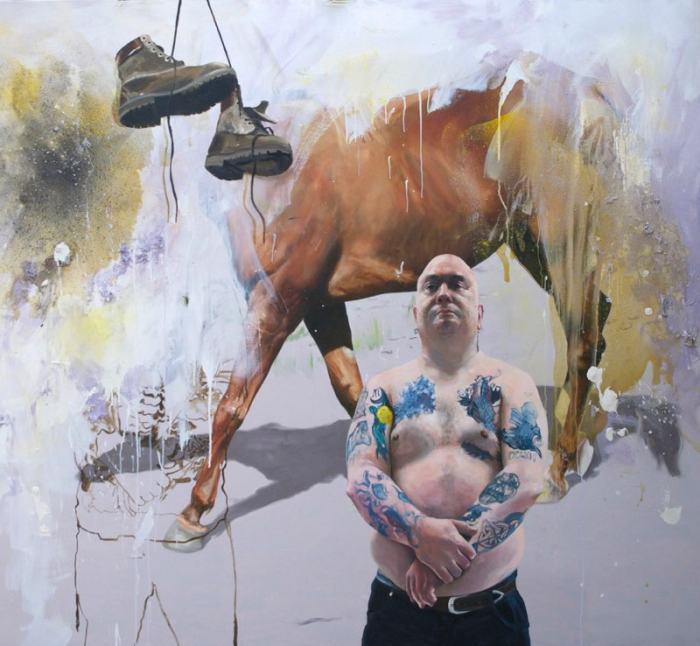 Британский художник. Chris Stevens