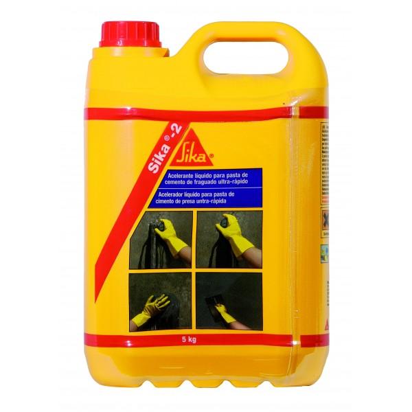 Sika 2 Acelerante Rapido Ferreteria Industrial Leon Prueba