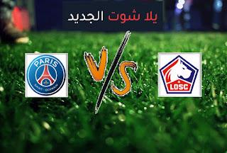 نتيجة مباراة باريس سان جيرمان وليل اليوم الأحد 1-8-2021 في كأس السوبر الفرنسي