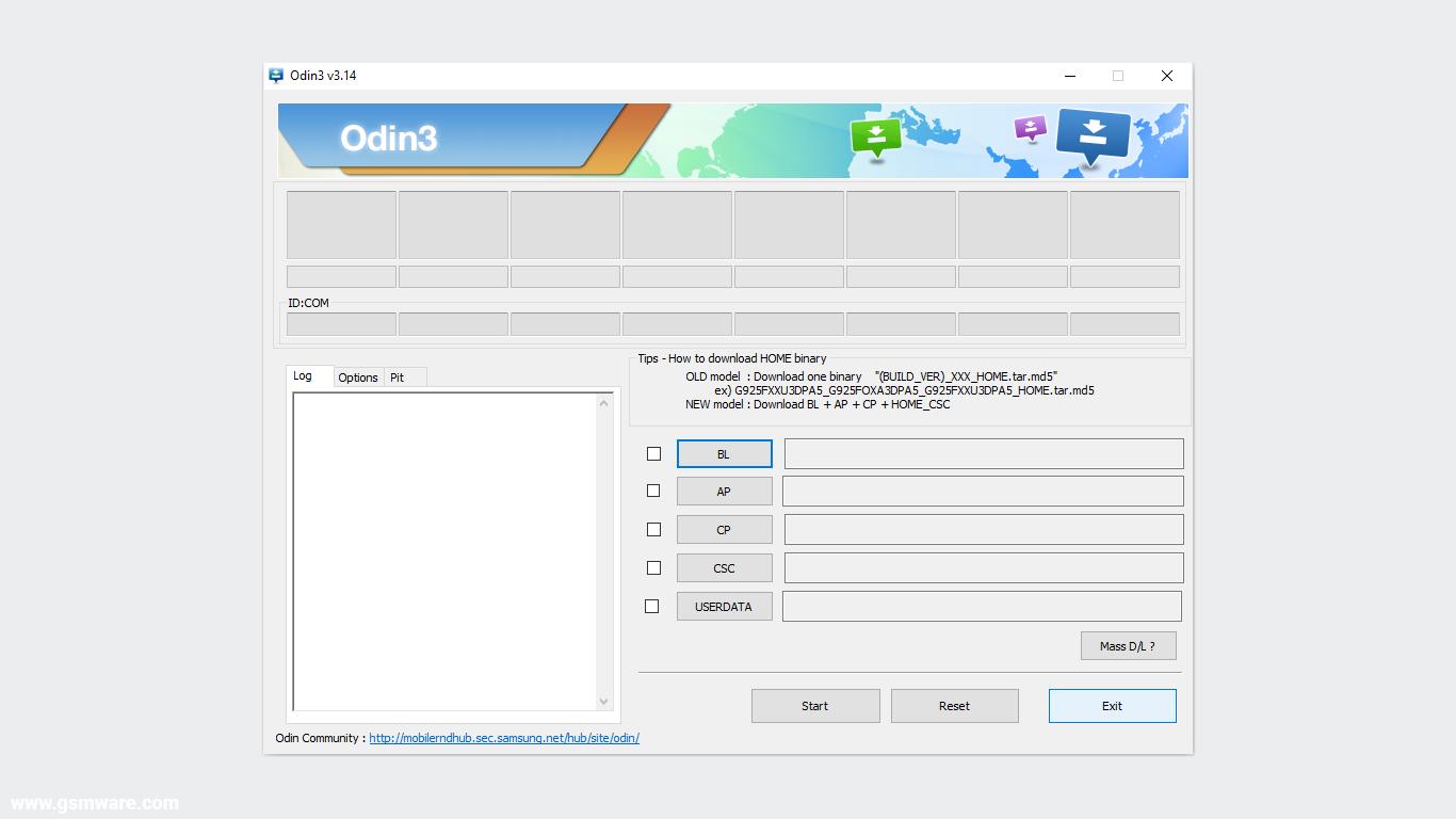 Odin3 V3.14.4 (Updated) Official Portable Setup
