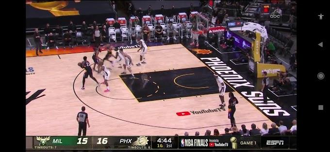 Phoenix  118:105  Milwaukee / Basketball. NBA