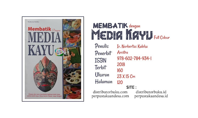 Membatik dengan Media Kayu Full Colour