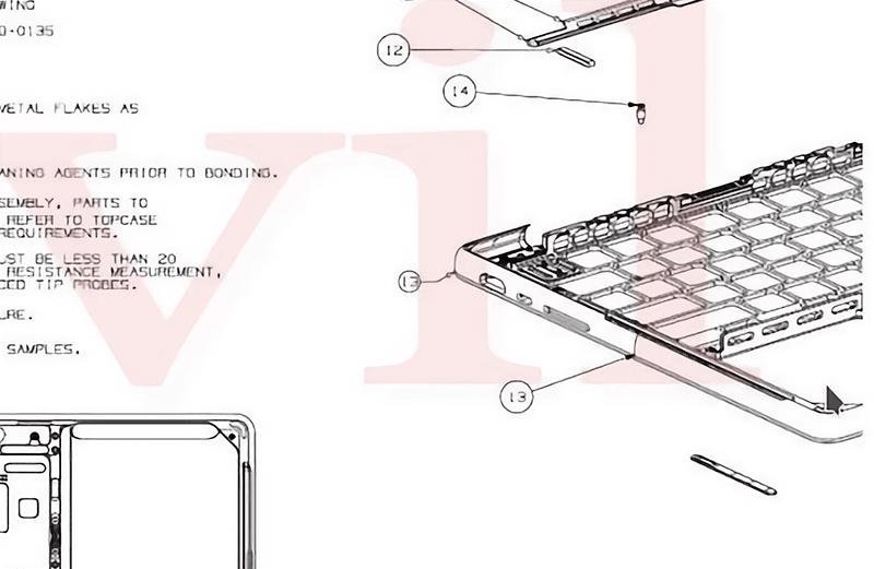 Leaked schematics of a unreleased Macbook