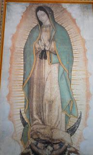 Papa Francisco en la Basílica de Nuestra Señora de Guadalupe