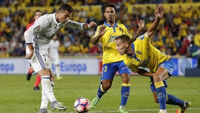 Real Madrid empata contra Las Palmas