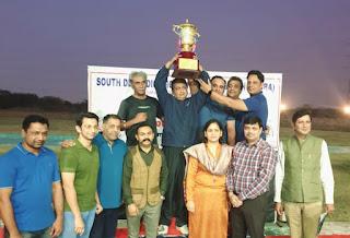 कर्णी सिंह शूटिंग रेंज पर पहली साउथ दिल्ली ओपन शूटिंग चैंपियनशिप मैं आरसी मंगला कप पर कब्ज़ा