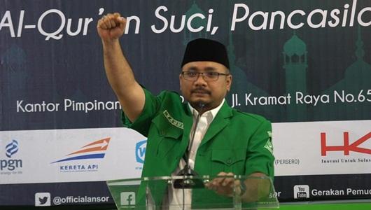 Yaqut Puji Kabinet Baru: Tugas GP Ansor Lawan Radikalisme Ringan
