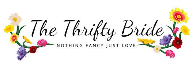 The Thrifty Bride blog logo