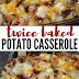 Fish | Twice Baked Potato Casserole