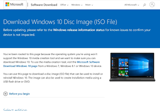 site download Windows 10