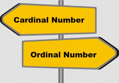 Penjelasan Cardinal da Ordinal Number