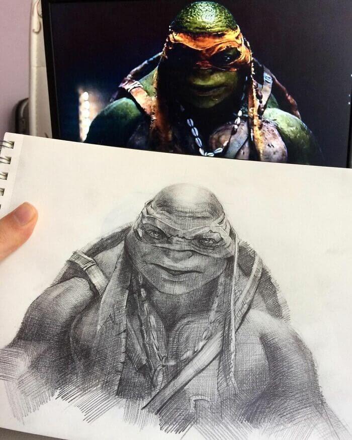 05-Teenage-Mutant-Ninja-Turtles-Samet-Turkan-www-designstack-co