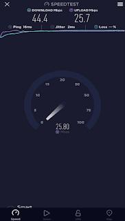 Smart Bro Rocket SIM Speedtest