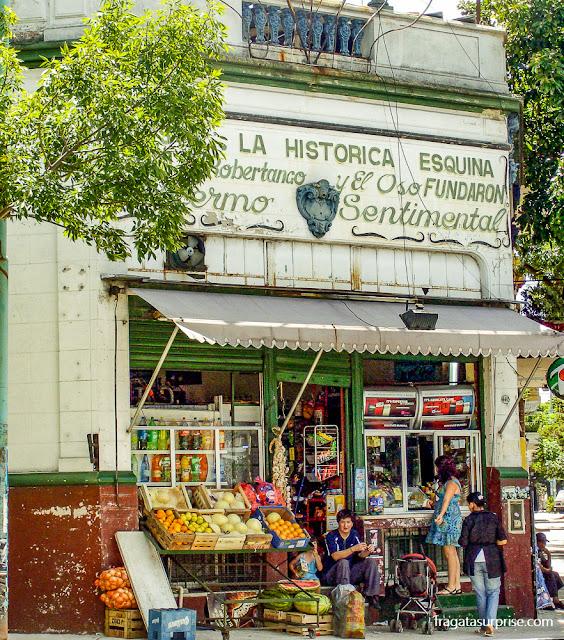 Mercearia tradicional em Palermo, Buenos Aires