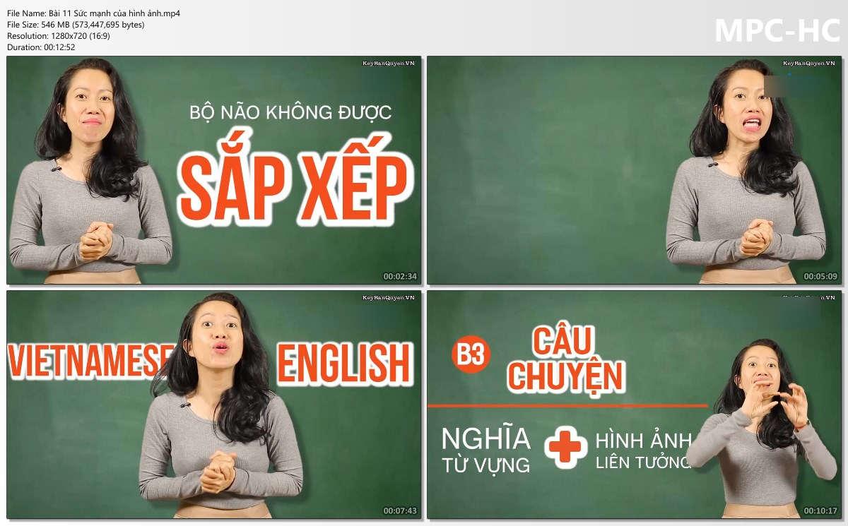 Tài liệu học tiếng Anh : Khóa Học 5 chìa khóa từ vựng Tiếng Anh đỉnh cao.