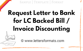 request letter for lc discounting