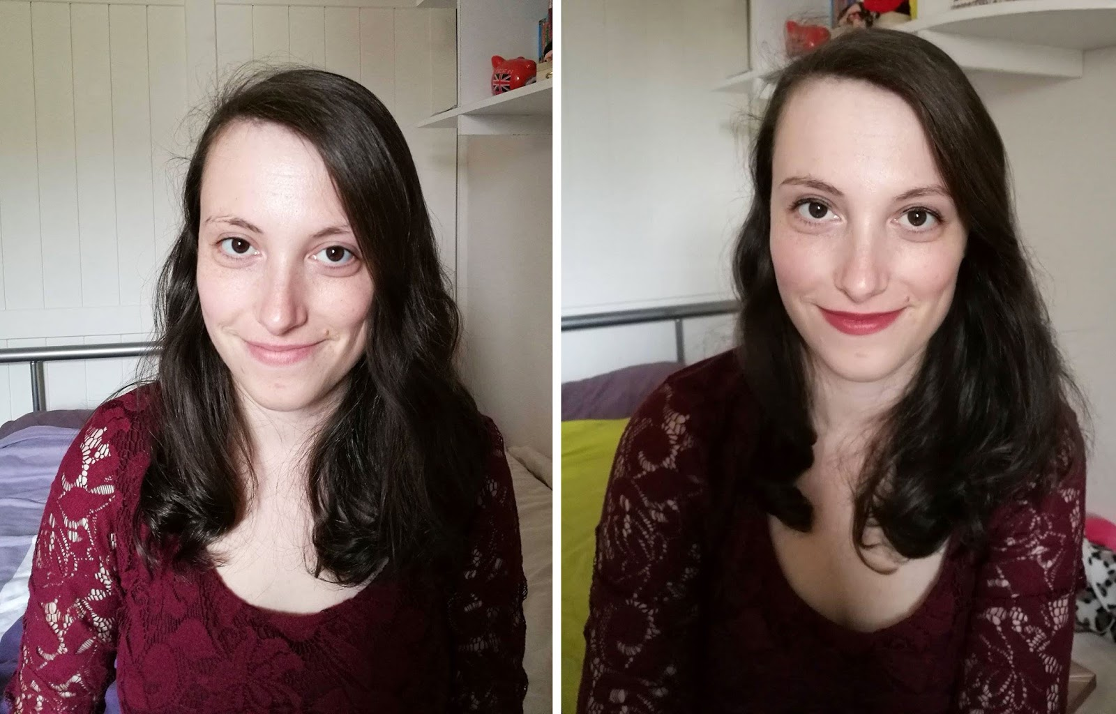 boyfriend does my make up avant après