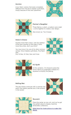 Churn Dasher quilt block tutorial from Generations Quilt Patterns