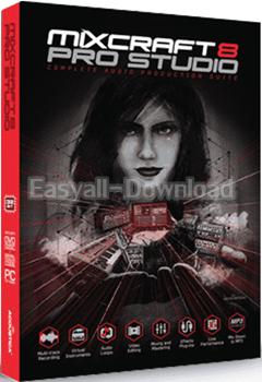 Acoustica Mixcraft 8.0 Build 373 [Full Crack] โปรแกรมมิกซ์เพลง และบันทึกเสียง