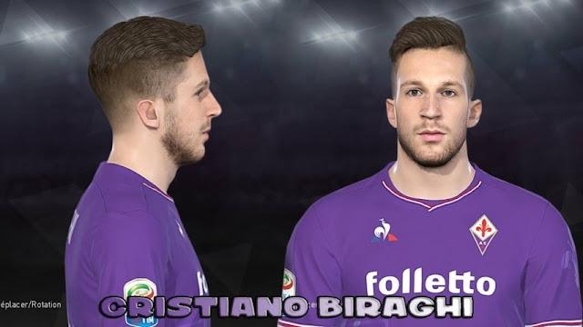 Cristiano Biraghi Face PES 2018