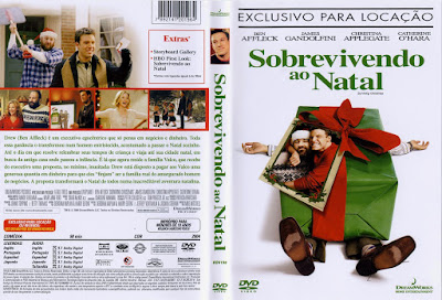 Filme Sobrevivendo ao Natal (Surviving Christmas) DVD Capa
