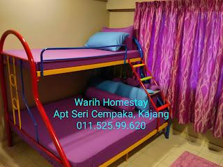 Warih-Homestay-Sri-Cempaka-Kajang-Master-Bedroom-1
