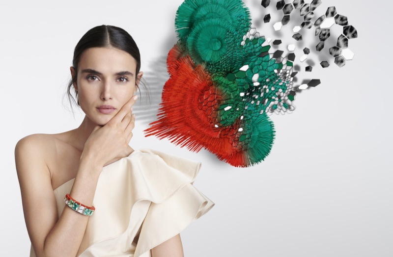Blanca Padilla Shines in Cartier [Sur]Naturel Jewelry Campaign