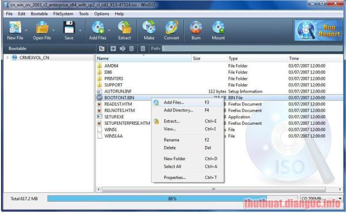 Download WinISO Full Crack