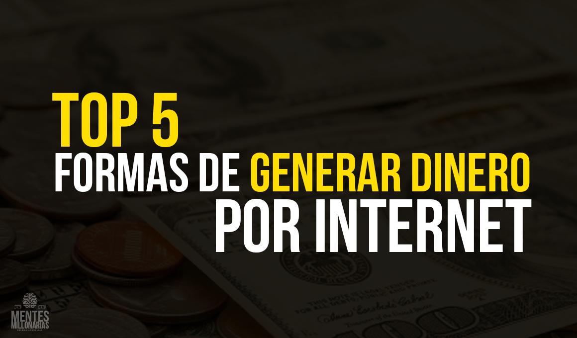 Mil Maneras De Ganar Dinero Viajando: Top 5 Formas De Ganar Dinero Por Internet