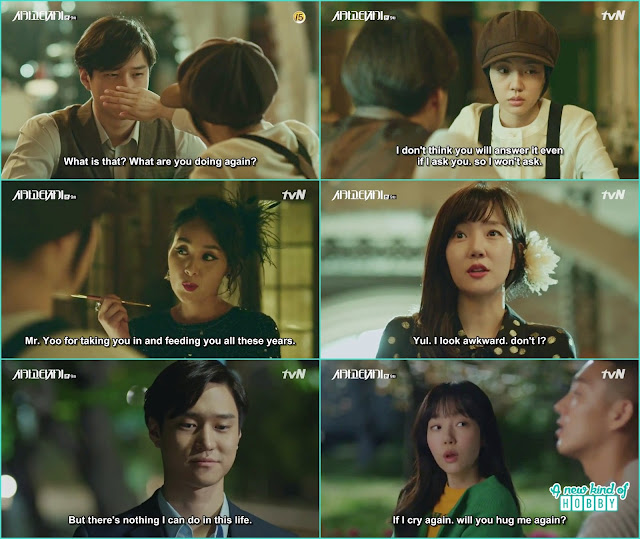 Madam at carpe diem make the tom boy jeon Seol into a lovely girl - Chicago Typewriter: Episode 9 korean drama