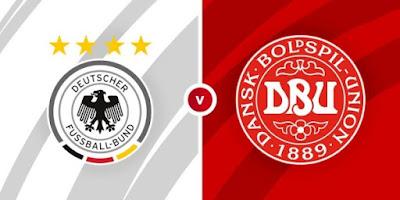 مشاهدة مباراة المانيا ضد الدنمارك 2 - 6 -2021 بث مباشر في مباراة ودية
