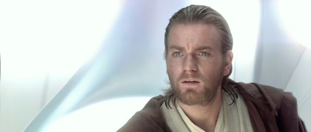 eWAN mCgREGOR IN ATTACK OF THE CLONES AS OBI-WAN