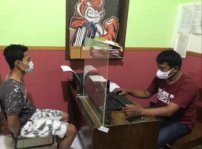 Pencurian Terjadi Konter HP Moro Mall, Satuan Reskrim Banyumas Tangkap Pelaku
