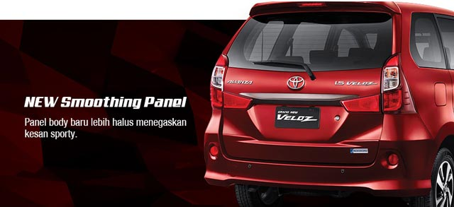 Harga Grand New Avanza Veloz Second Spesifikasi Type Toyota Trd Exterior