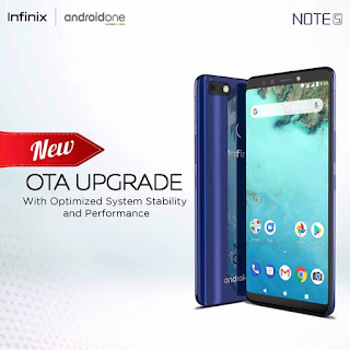Infinix note 5 ota update