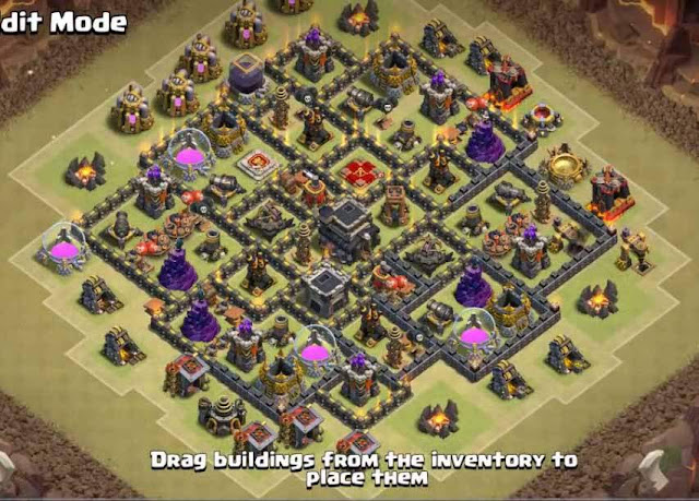 Base COC TH9 War 9