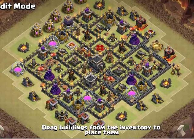 Base COC TH9 War 9